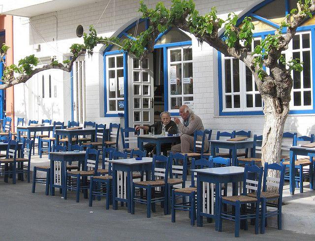 Paleohora Cafe, Crete, Greece | Flickr - Photo Sharing!