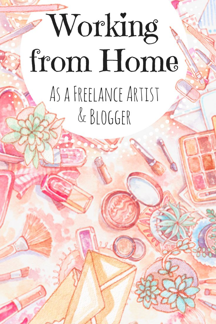 How I went from art school directly to working from home as a freelance illustrator. Now I'm slowly building a creative business of my own instead of only freelancing - follow me on this blogging journey with my income reports, traffic numbers and all the ups and downs waiting in 2017 for a new blogger!