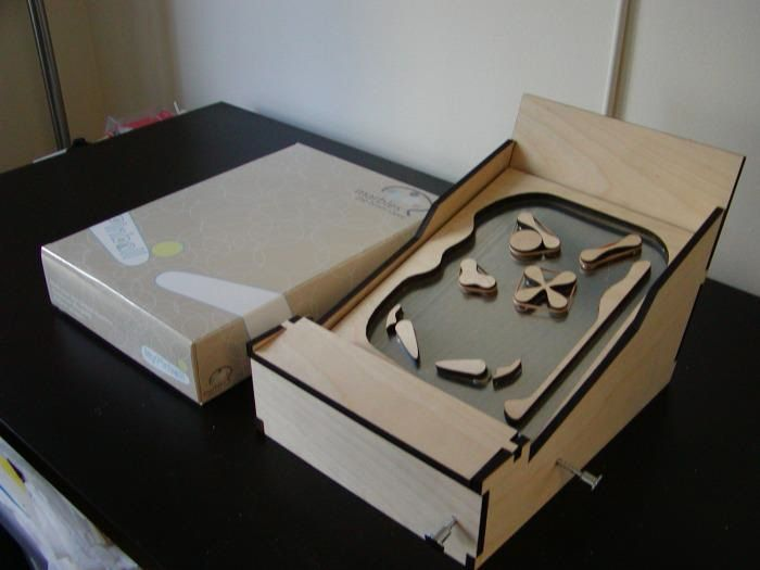 how to build a pinball machine out of wood