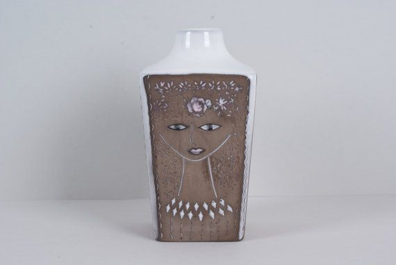 Vase from Swedish Upsala-Ekeby UE made by Mari by Danishartpottery