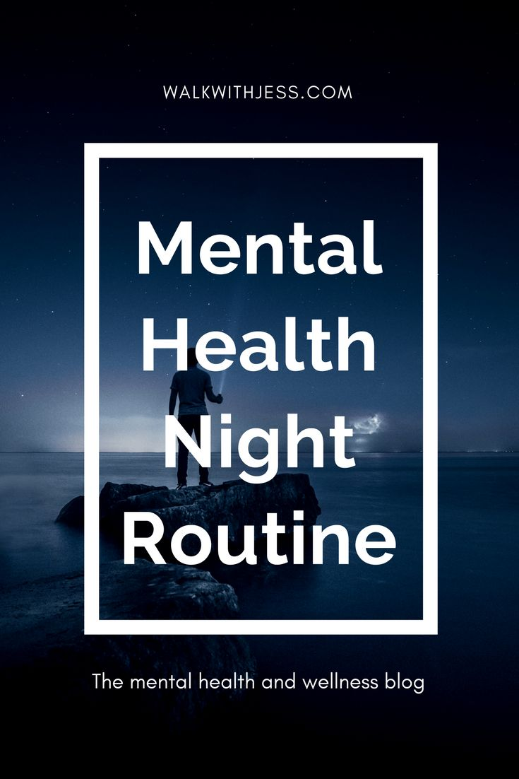 Mental Health Night Routine