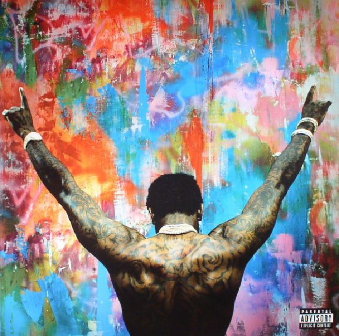 The artwork for the vinyl release of: Gucci Mane - Everybody Looking (Atlantic) #music HipHop