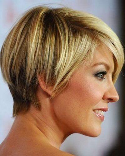 corte de cabelo curto feminino loiro