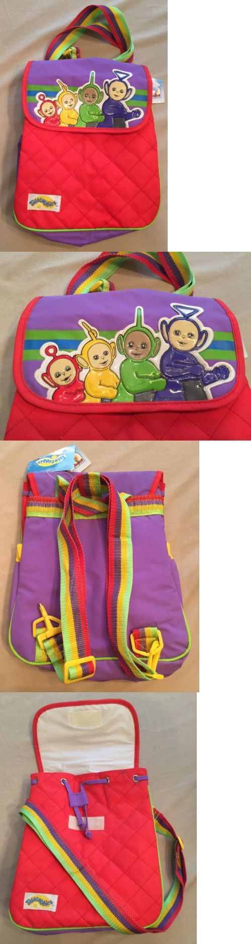 Teletubbies 756: Very Rare Teletubbies Insulated Bag, Po, Dipsy, Tinky Winky, And La La, Nwt, 1999 -> BUY IT NOW ONLY: $54.99 on eBay!