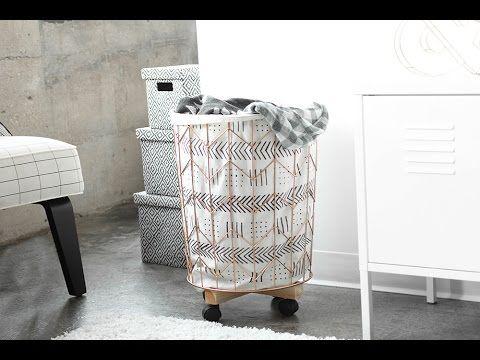 DiY: Φτιάχνω το ομορφότερο καλάθι για άπλυτα σε στυλ Scandinavian