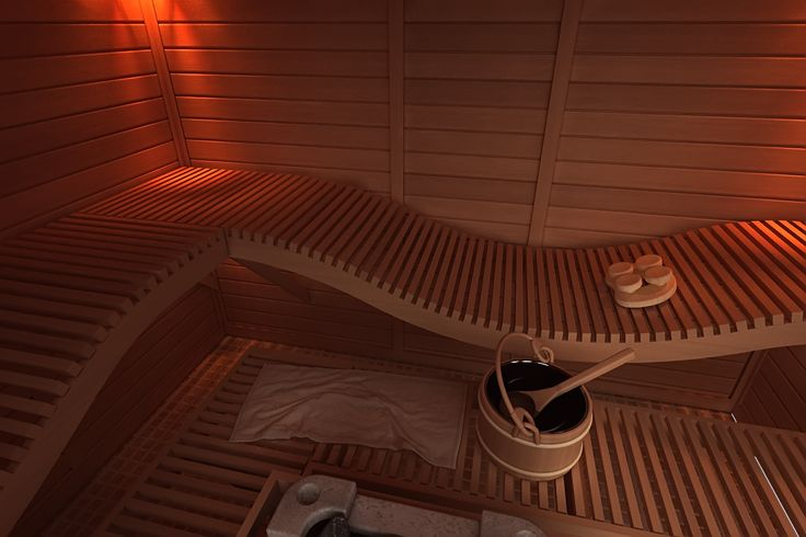 Innovative sauna bench solutions help you to solve your special needs in sauna room.