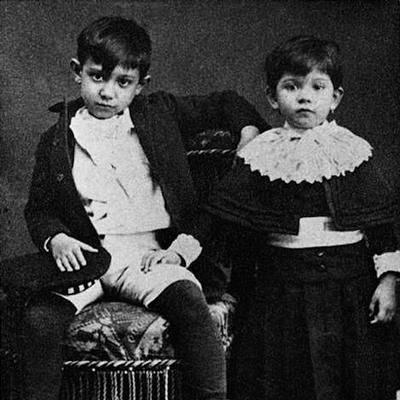 At 8 years old, Pablo Picasso already had swagger. It was the revolutionary artist's 133rd birthday today (b. 1881), and we're looking back at four Picasso artworks that have passed through the gallery on the Matthews Gallery blog. Click the image to read it! #art #artblog #artnews #artgallery #gallerylife #pablopicasso #artistbirthday