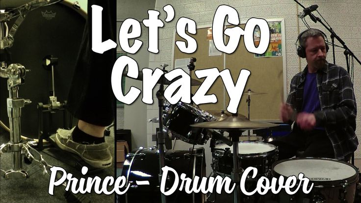 Prince - Let's Go Crazy Drum Cover
