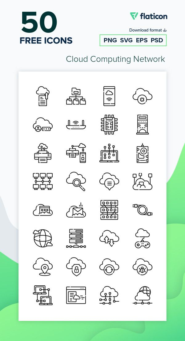 50 Free Vector Icons Of Cloud Computing Network Designed By Freepik Free Icon Packs Free Icons Png Vector Icons