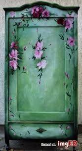 Znalezione obrazy dla zapytania meble ręcznie malowane