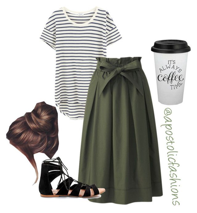 """Apostolic Fashions #1780"" by apostolicfashions on Polyvore featuring Splendid and Uniqlo"