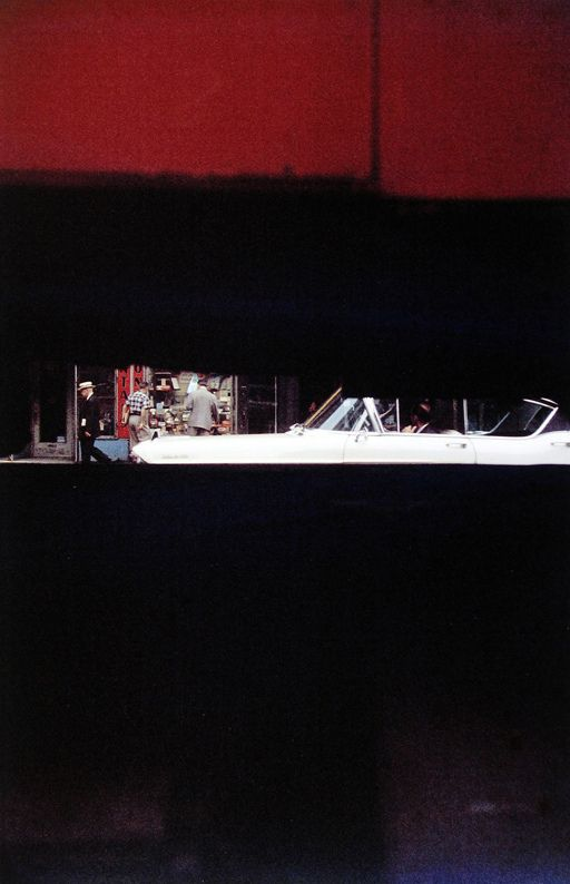 Saul Leiter - street photography crossed with Rothko!