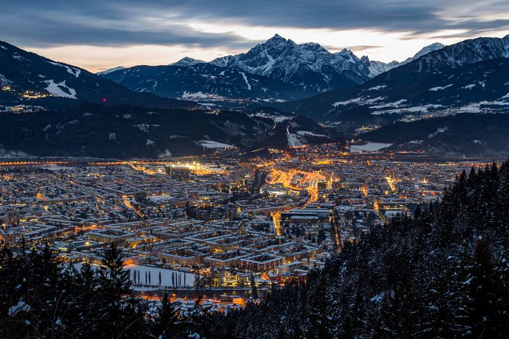 Innsbruck from above by Bernhard Kapelari - Photo 141505765 - 500px