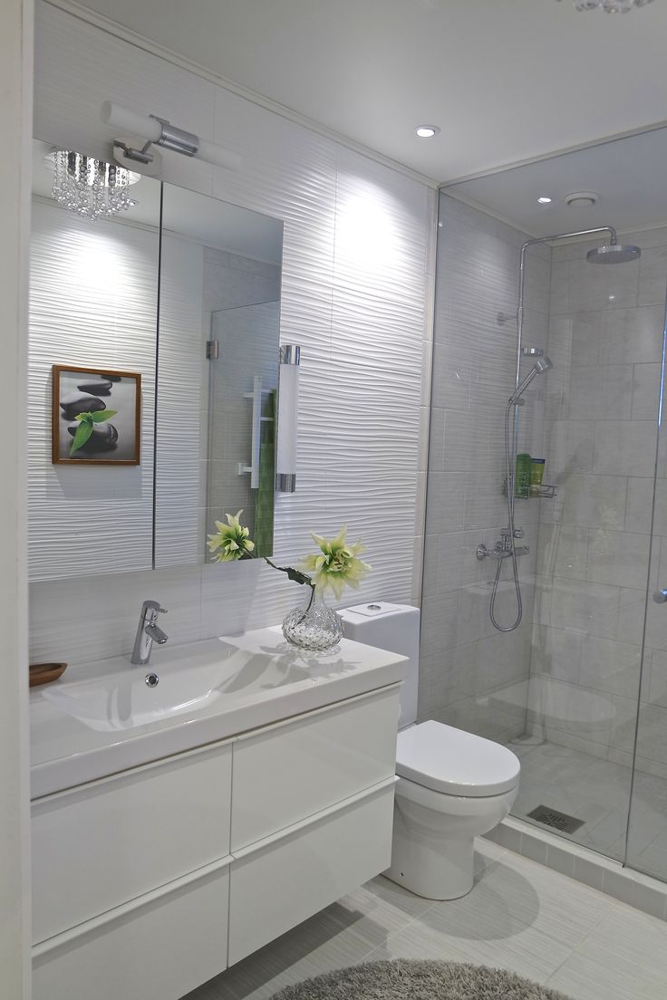 Totally refreshed and updated bathroom