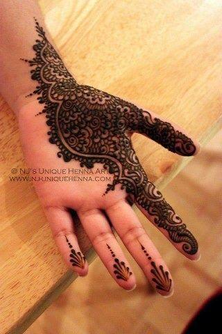 mehendi, henna, design, hand, palm, pretty