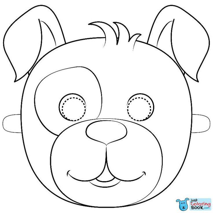 Hundemaske Malvorlagen kostenlos druckbare Malvorlagen in Bulldog Maske Malvorlagen   – Dog Coloring Pages