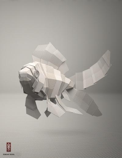 Criaturas de tela de Jeremy Koo