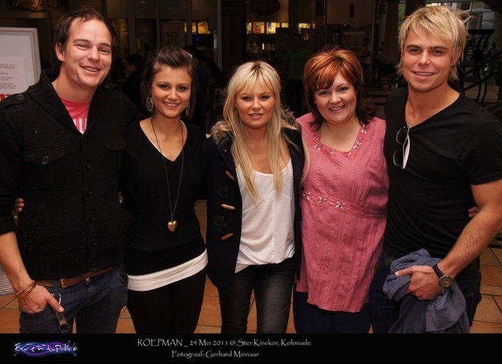 SONY DSC — with Karlien Van Jaarsveld Bestuur and Amalia Van Jaarsveld.