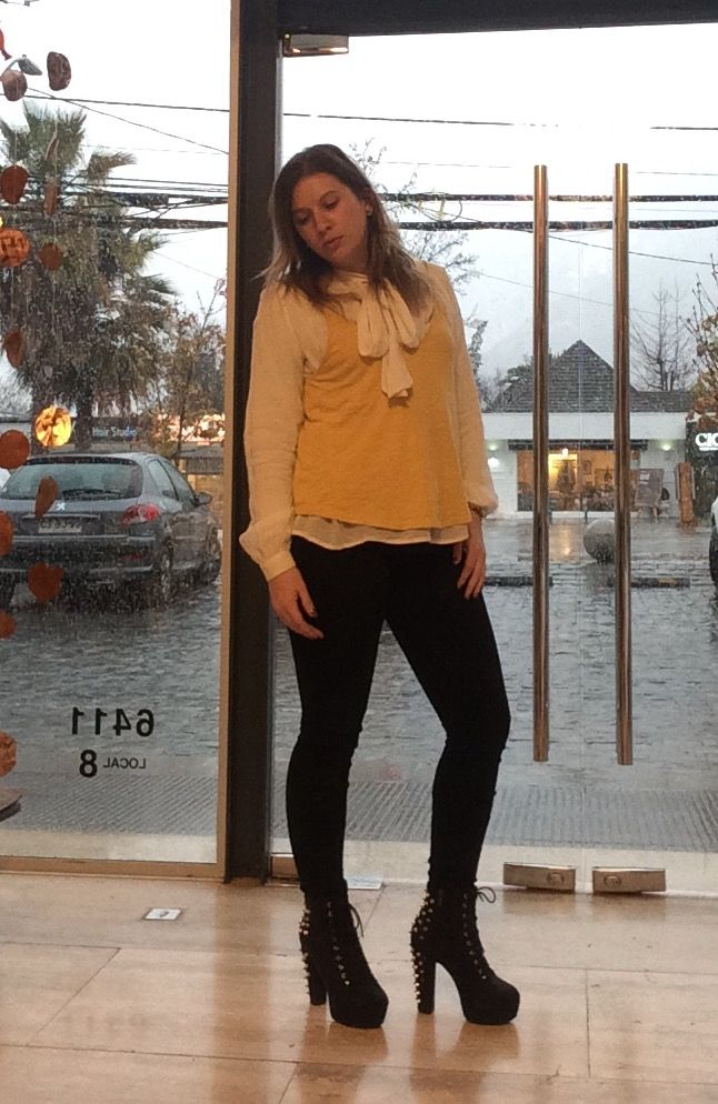 Working on a rainy day! Blouse and top!!