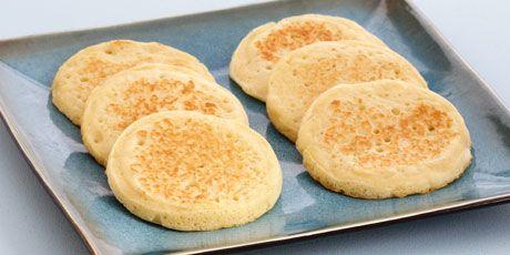 Classic Crumpets Recipes   Food Network Canada