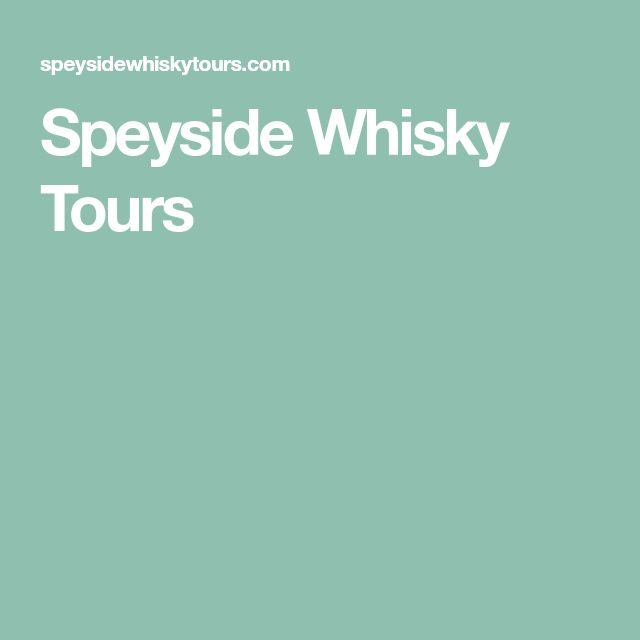 Speyside Whisky Tours