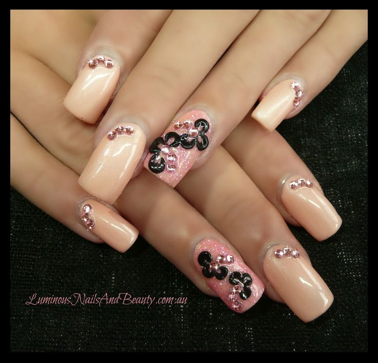 524 best images about nail fashion on pinterest gold for Acrylic nails salon brisbane