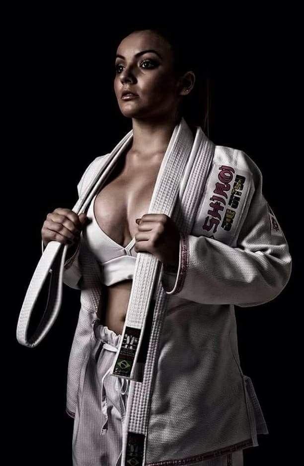 Karate women topless kim nude