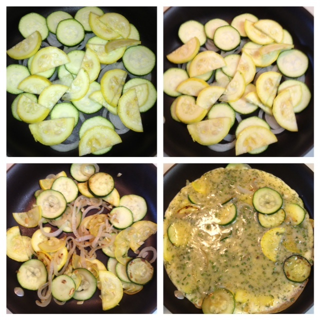 ... | Clean eating | Pinterest | Zucchini Frittata, Zucchini and Onions