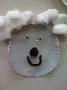koala bear paper plate craft pre-k kindergarten