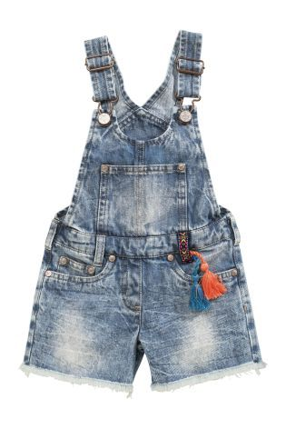 Buy Distressed Look Denim Dungarees (3mths-6yrs) online today at Next: United States of America