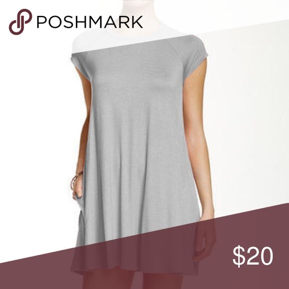 Grey Shirt dress size small brand new Brand new from Nordstrom. I bought it online so they gave it in a bag instead of attaching a tag Soprano Dresses