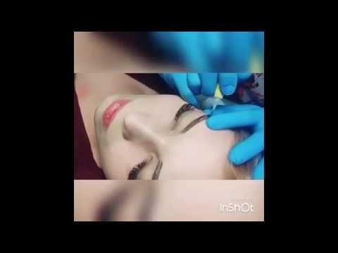 Перманентный макияж бровей - косметолог Елена Пруссакова