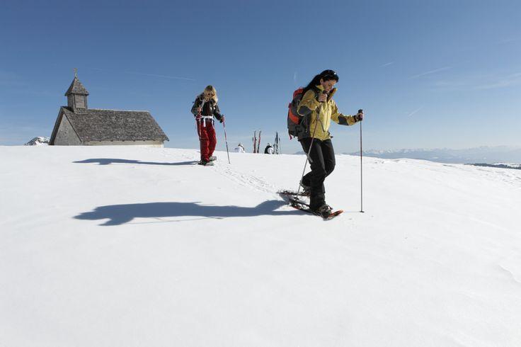 Snowshoe hiking @Merano 2000 | © Frieder Blickle