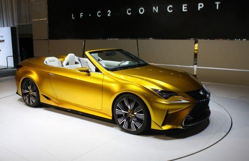 New Upcoming Car Wallpaper - Lexus LF C2 Concept