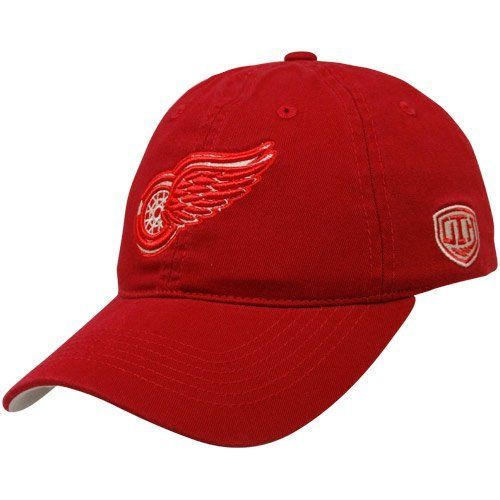 NHL Old Time Hockey Detroit Red Wings Red Netminder Adjustable Hat by Old Time. $17.95. Old Time Hockey Detroit Red Wings Red Netminder Adjustable HatEmbroidered Old Time Hockey logoOne size fits mostSix panels with eyeletsUnstructured fitAdjustable hook and loop fastener strapImported100% CottonOfficially licensed NHL productQuality embroidery100% CottonUnstructured fitOne size fits mostQuality embroideryAdjustable hook and loop fastener strapSix panels with eyeletsEmbroid...