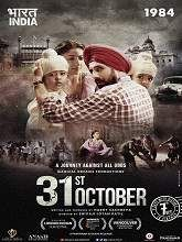 Watch 31st October (2016) DVDScr Hindi Full Movie Online Free  31st October Movie Info: Directed by: Shivaji Lotan Patil Written by: Harry Sachdeva, Harry Sachdeva Starrign by: Soha Ali Khan, Lakhwinder Lakha, Nagesh Bhonsle Genres: Action | Drama | History | Thriller Country: India Language: Hindi