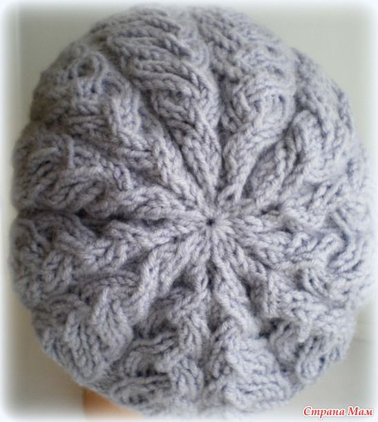 """Здравствуйте, Ивушки!  Сегодня хочу вам показать результат моего тестирования шапочки """"Серебро"""" у Инны Котляр http://innak-r.stranamam.ru/ Результатом я довольна, схемы чёткие и понятные."""