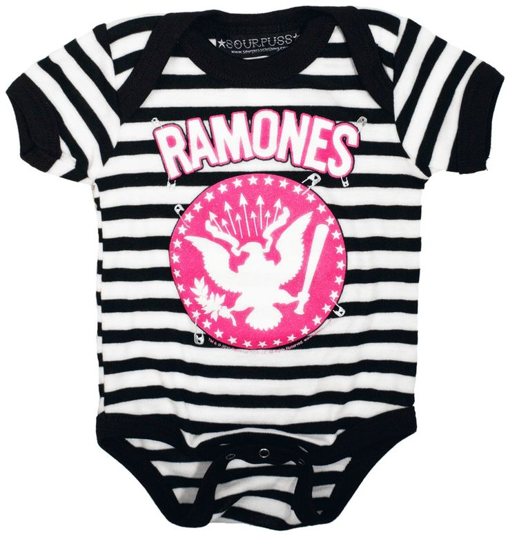 Ramones Presidential Seal Infant Baby Romper T-Shirt