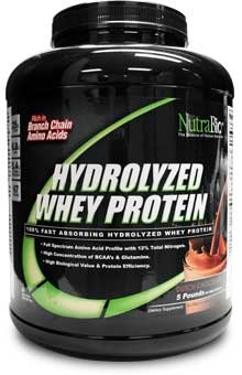 Hydrolyzed Whey Protein Powder (Chocolate) - 5 LB #sports #hydrolyzed #protein #supplements #nutrabio