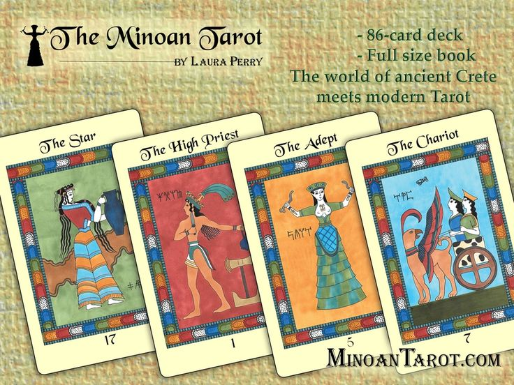 The Minoan Tarot by Laura Perry project video thumbnail