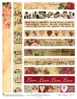 Art Strips #5-Valentines Day