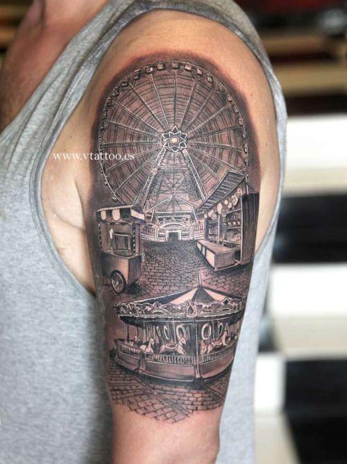 carnival tattoo | Tumblr