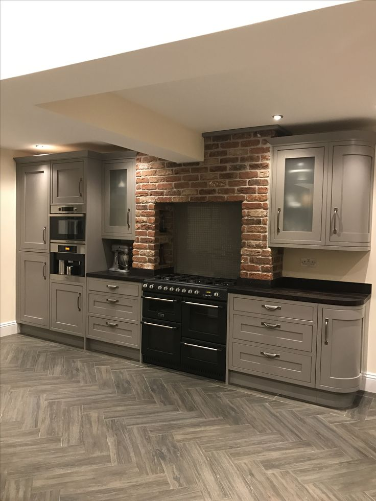 Carisbrook Taupe Kitchen Cooke & Lewis
