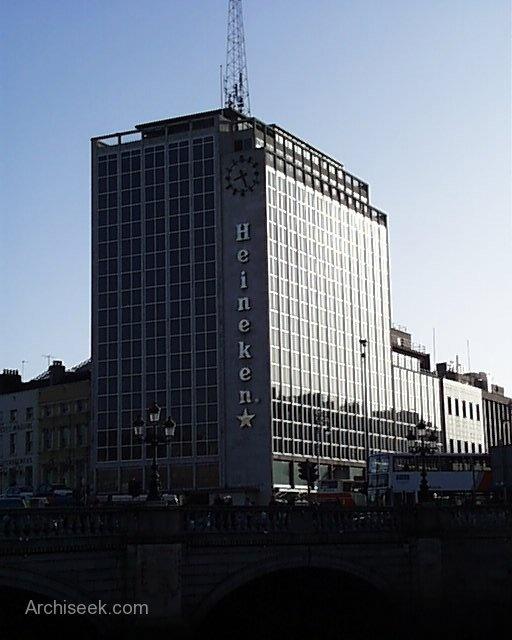 Small Spaces Architects Dublin Ireland Houses: O'Connell Bridge House, D'Olier Street, Dublin