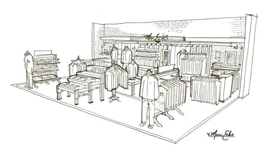 marc ecko hard shop concept hard shop concept drawing for