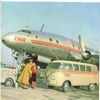 TWA VW Bus - Trans World Airlines