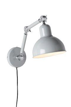 Ellos Home Grå Vegglampe Edgar