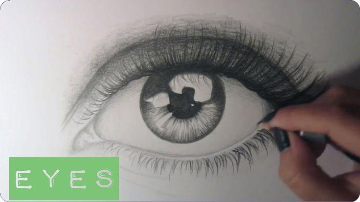 Drawing an Eye + Shading Tutorial