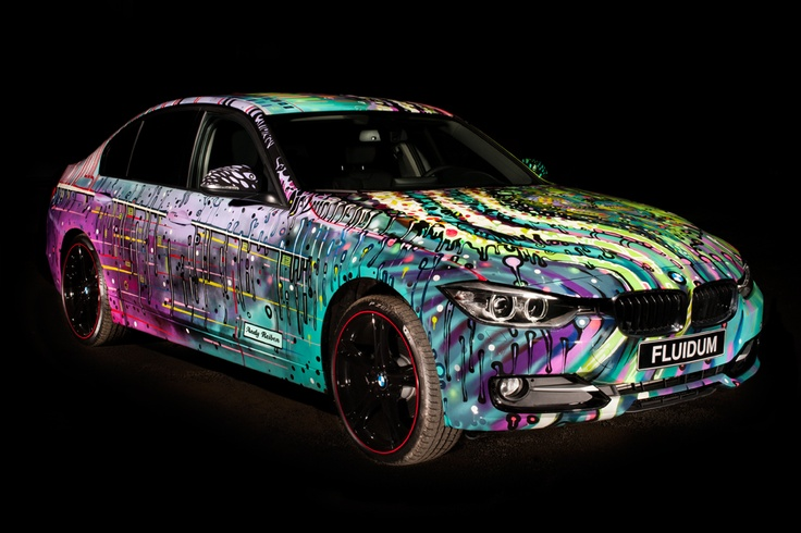BMW 3 Series FLUIDUM designed by Andy Reiben Photo