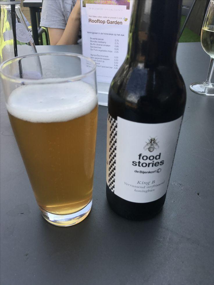Special Honey Beer from Brouwerij De Hoop for De Bijenkorf